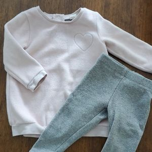 Tucker+Tate Cozy sweater and pants